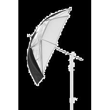 Lastolite Фотозонт черный/серебристый/белый 72см