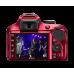 D3400 Kit AF-P DX 18-55mm f/3.5-5.6G VR (красный)