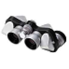 Бинокль Mikron 6x15 CF серебристый