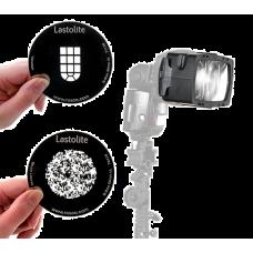 Lastolite Насадка и комплект масок для создания фоновых эффектов Gobo Set