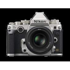 Df Kit + AF-S 50mm f/1.8 Серебристый