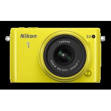 Nikon 1 S2 Kit 11-27.5mm f/3.5–5.6 Желтый (восстановленная техника)